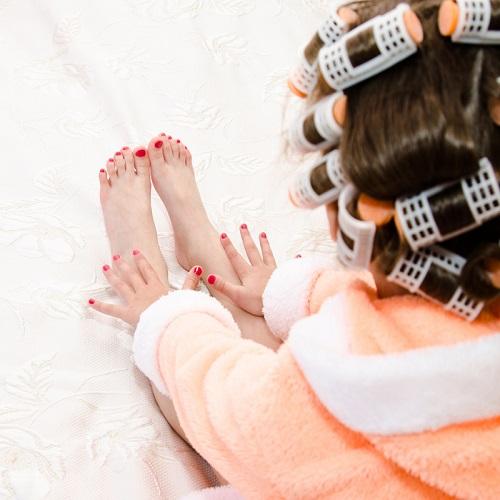 Kid Manicure & Pedicure